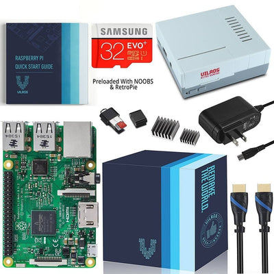 Vilros Raspberry Pi 3 Complete Starter Kit With Retro Gaming Case - Vilros.com