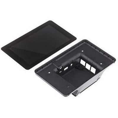 "Black Case for Official Raspberry Pi 7"" Touchscreen LCD Display - Vilros.com"