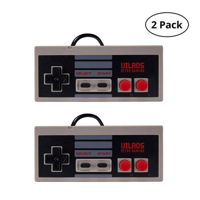 Vilros Retro Gaming NES Style USB Gamepads-Set of 2