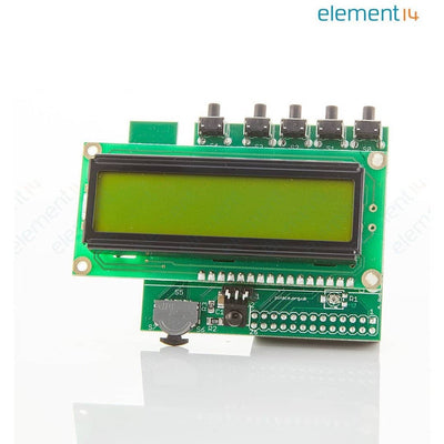 PIFACE CONTROL & DISPLAY 2 -  LCD I/O Expansion Board for Raspberry Pi B+ - Vilros.com