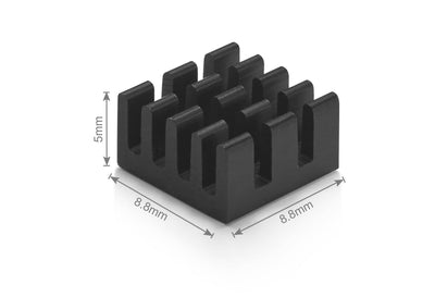 Pi 4 Heatsink Set of 4 - Designed For Raspberry Pi 4 by Vilros