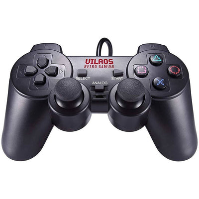 Vilros Retro Gaming PS2 Style USB Gamepads-Set of 2 - Vilros.com
