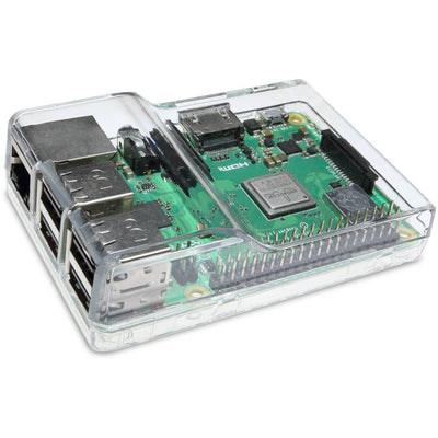 Vilros Clear Case with Dual Multi-Purpose Covers For Raspberry Pi 3 - Vilros.com