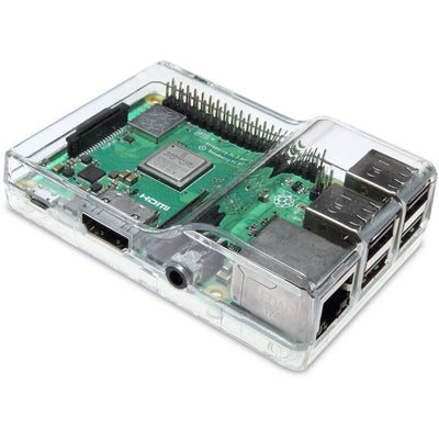 Vilros Clear Case with Dual Multi-Purpose Covers For Raspberry Pi 3