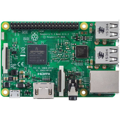 Vilros Raspberry Pi 3 Barebones Kit - Includes Raspberry PI 3 - Sandisk 16GB Micro SD Card - Clear Case - Heatsink - Vilros.com