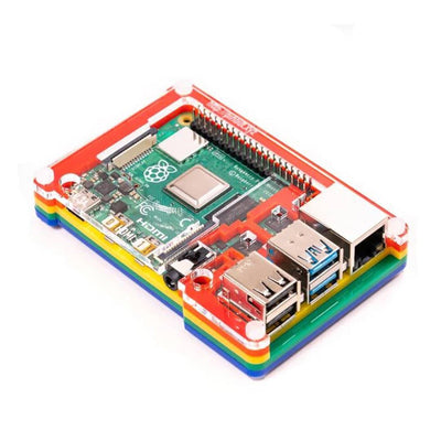 PIMORONI Pibow Coupé 4 (Raspberry Pi 4 Only)