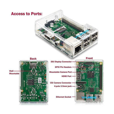 Vilros Raspberry Pi 3 Model B Complete Wireless Keyboard Kit - Vilros.com