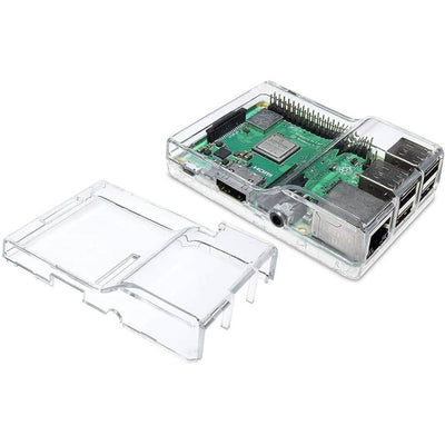 Vilros Raspberry Pi 3 B Plus Complete Starter Kit with Clear Transparent Dual Covers Case