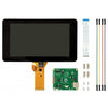"Official Raspberry Pi 7"" Touchscreen with Pi 4 Compatible Case"