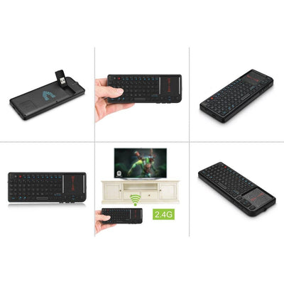 Mini 2.4 G Wireless Keyboard With Touch Pad - Vilros.com