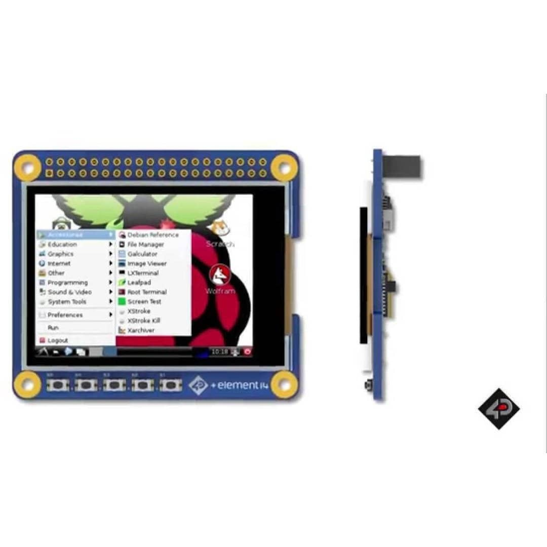 2 4 inch Primary Display HAT for Raspberry Pi