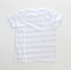 DAI. Kids T-Shirt  Ash White Stripe
