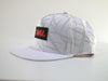 DAI. Headwear White on White Pattern