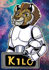 Vancoufur Space Station Badges (Head and shoulders)