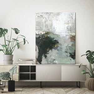 Freja / Green Gate | HANDMADE PAINTING