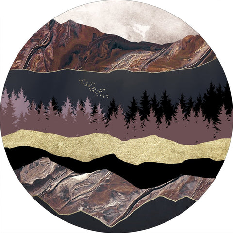 Autumn Mountains 1 | CIRCLE ART