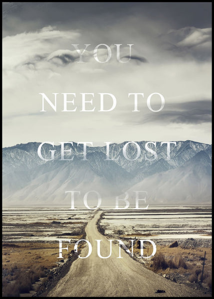 Get lost | POSTER BOARD