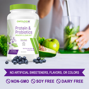 soy free dairy free protein probiotics