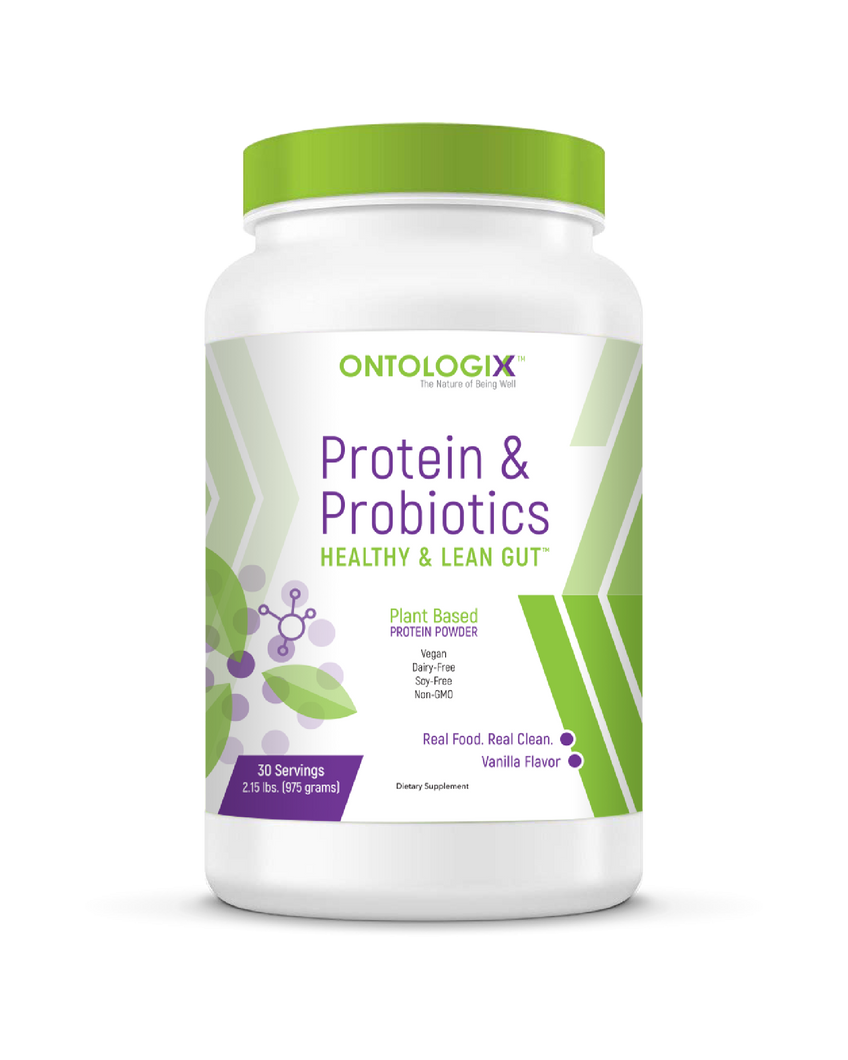 Plant Based Protein & Probiotics - Healthy & Lean Gut™