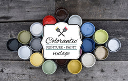 PEINTURE CRAYEUSE (CHALK BASED PAINT) COLORANTIC™