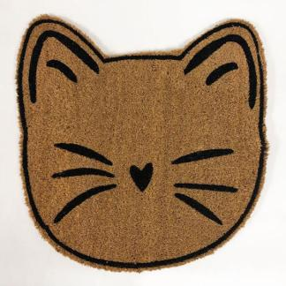 Tapis face de chat