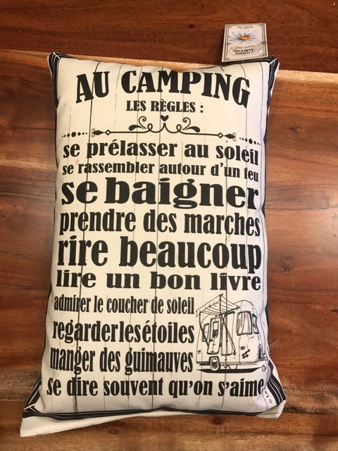 Coussin le camping