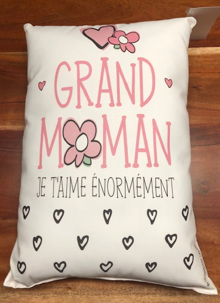 Coussin Grand-Maman