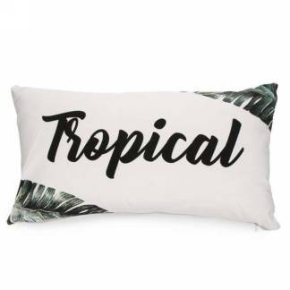 Coussin Rectangulaire Tropical