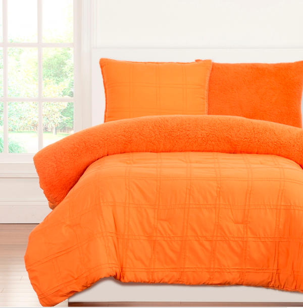 Douillette Plush Orange