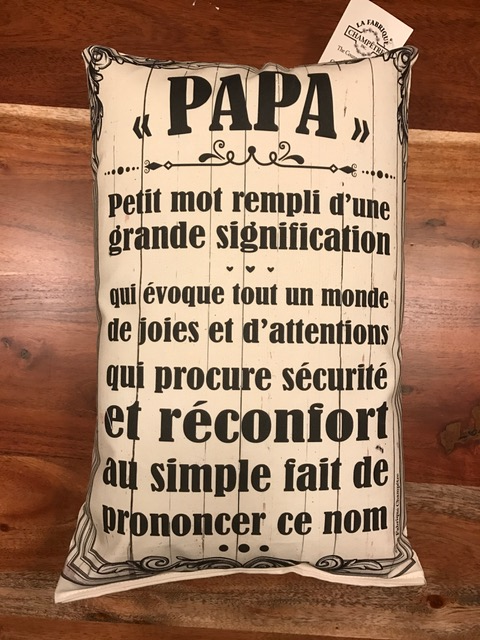 Coussin Papa