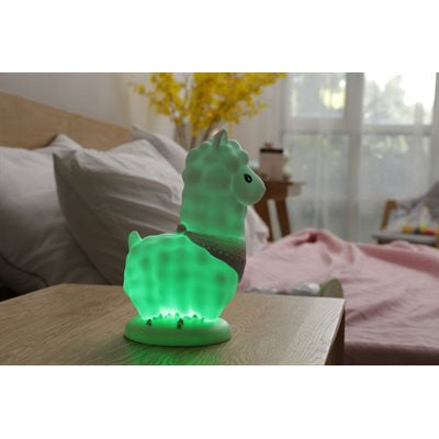 Veilleuse Lama Led multicolore rechargeable