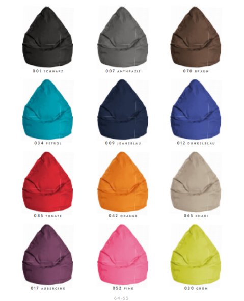 Bean Bag - Brava ( 12 couleurs )