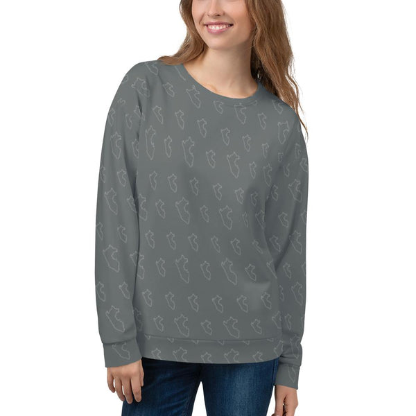 Sweatshirt womens skin Map | PeruvianMood