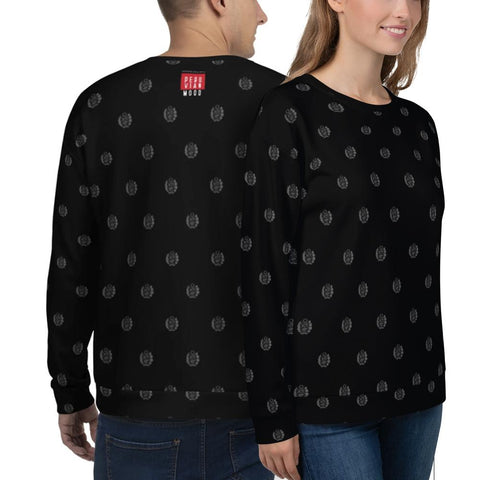 Peruvian Sweatshirt - Mini Coat of Arms of Peru Unisex