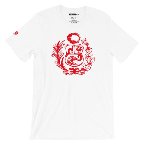 Peruvian Printed T-Shirt - Peruvian Shield