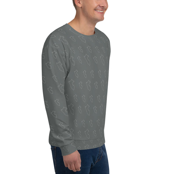 Sweatshirt hoodie men - Skin Peruvian Map | PeruvianMood