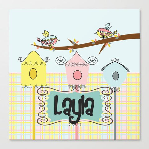 Bird Cage Kids Wall Art
