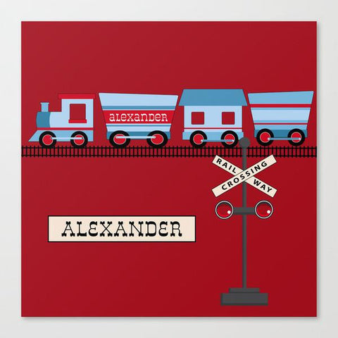 All Aboard Wall Art