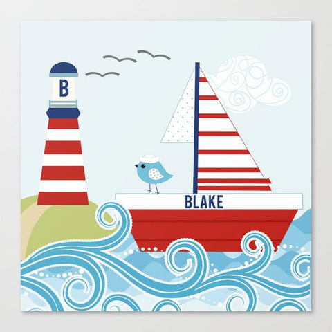 Ahoy Mates Wall Art