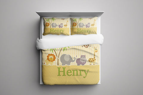 Wild Thing Personalized Bedding