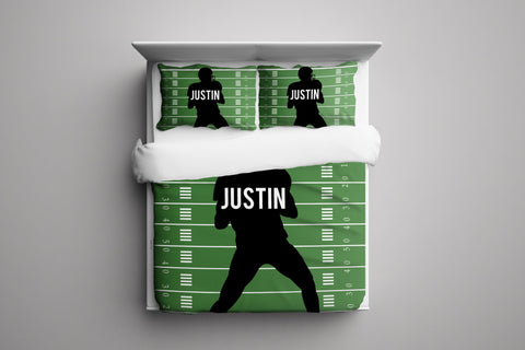 Football Player Personalized Bedding