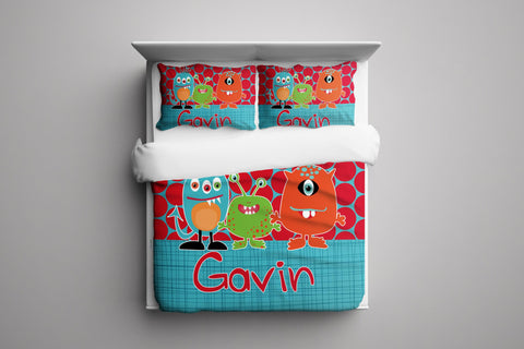 Lil Monsters Bedding Set