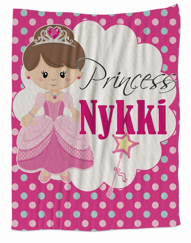 Pretty Princess Fleece Blanket