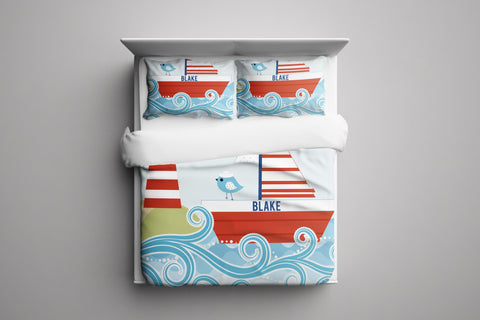 Lighthouse Personalized Bedding