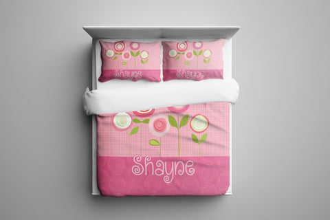 Beautiful Blossom Personalized Bedding