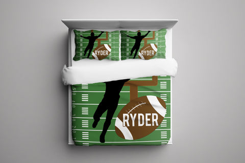 Football Player II Personalized Bedding