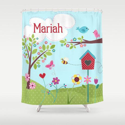 Beautiful Day  Personalized Shower Curtain
