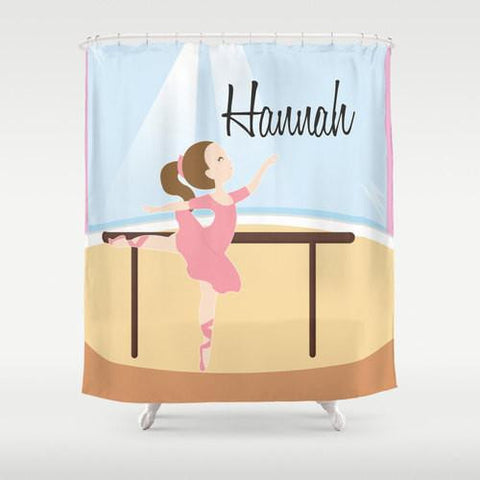 Dance Studio  Personalized Shower Curtain
