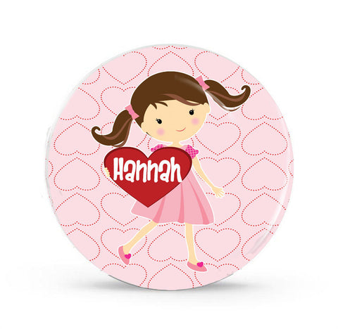 My Valentine Personalized Plate