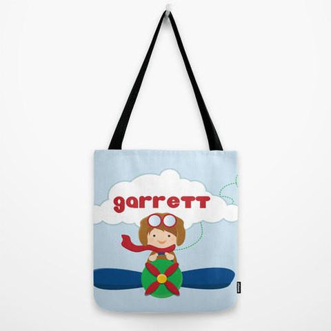 Lil Aviator Tote Bag For Kids